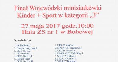 Finał Wojewódzki minisiatkówki!