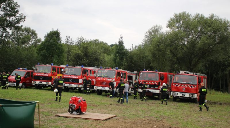 Gminne zawody strażackie – sierpień 2017