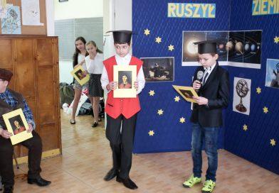 Dzień Patrona w Szkole Podstawowej im. Mikołaja Kopernika w Brzanie
