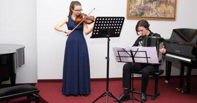 Koncert w Szkole Muzycznej I stopnia w Bobowej