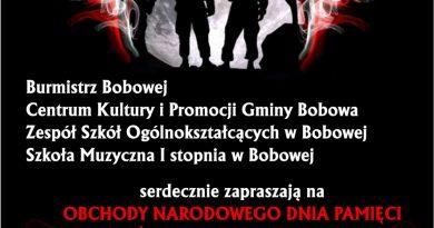 Obchody Narodowego Dnia Pamięci Żołnierzy Wyklętych – zaproszenie