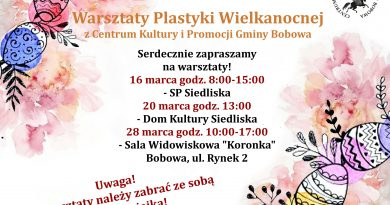 Warsztaty Plastyki Wielkanocnej!- Zaproszenie