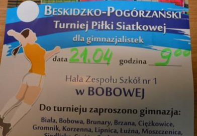 Beskidzko-Pogórzański Turniej Piłki Siatkowej – zaproszenie