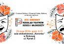 XIX Gminny Przegląd Teatrów Dzieci i Młodzieży w Bobowej- Zaproszenie