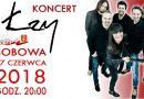Zaproszenie na koncert zespołu ŁZY