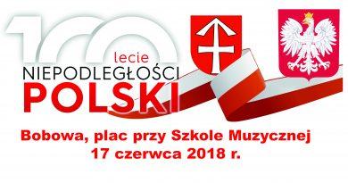 Obchody 100-lecia odzyskania niepodległości przez Polskę- Zaproszenie