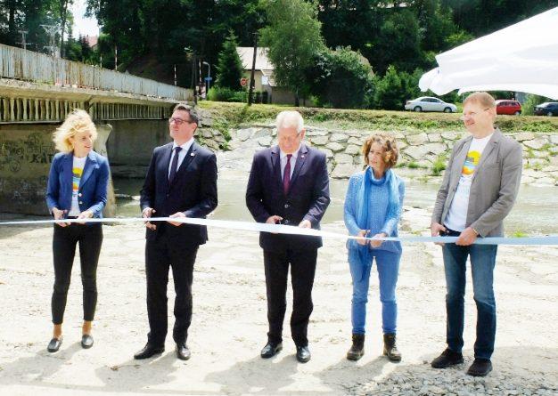 Z myślą o środowisku! Przywrócono ciągłość ekologiczną rzeki Biała Tarnowska
