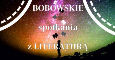 Bobowskie spotkania z literaturą- ZAPROSZENIE