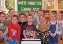 """Akcja """"ŚWIEŻE POWIETRZE – ZDROWE ŻYCIE"""" w oddziale przedszkolnym w Szkole Podstawowej w Stróżnej"""