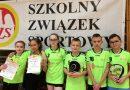 Dziewczęta z Wilczysk najlepsze w rejonie w tenisie stołowym