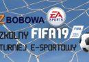"""Zapraszamy na """"I Międzyszkolny Turniej FIFA 19"""" w Zespole Szkół Zawodowych w Bobowej"""
