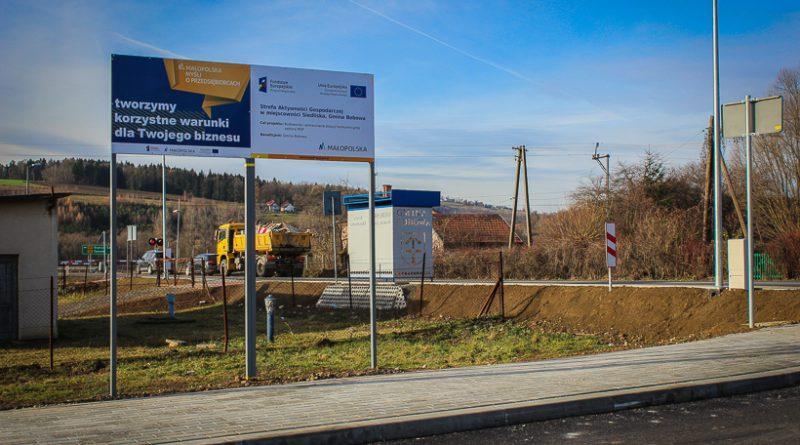 Działki w Strefie Aktywności Gospodarczej w Siedliskach przeznaczone do sprzedaży