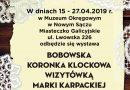 """Wystawa """"Bobowska Koronka Klockowa wizytówką Marki Karpackiej"""""""