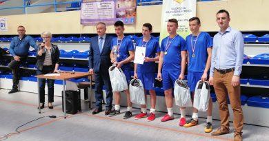 III Wojewódzki Turniej Piłki Siatkowej Chłopców OHP W Dąbrowie Tarnowskiej