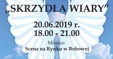 """KONCERT UWIELBIENIA """"SKRZYDŁA WIARY"""" – Zaproszenie"""