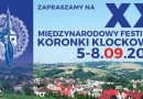 XX Międzynarodowy Festiwal Koronki Klockowej w Bobowej – zaproszenie