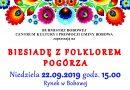 Biesiada z Folklorem Pogórza – Zaproszenie