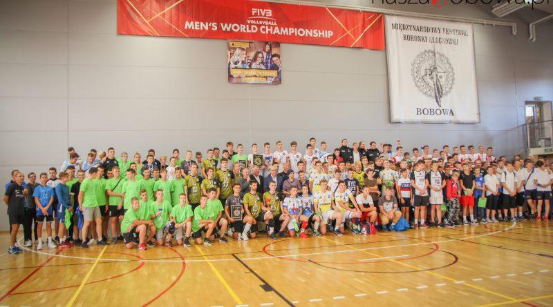 IX Międzynarodowy Turniej Piłki Siatkowej chłopców o Złotą Koronkę Bobowej