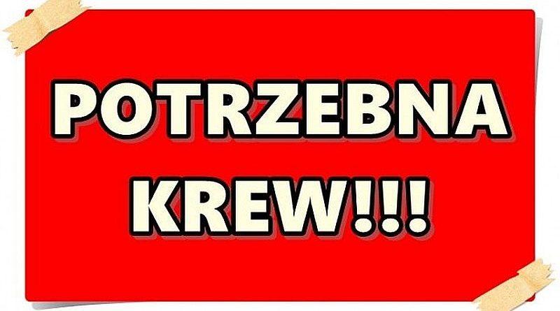 Potrzebna krew dla druha Ryszarda Ziomka, strażaka Ochotniczej Straży Pożarnej w Bobowej