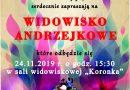 Widowisko Andrzejkowe – zaproszenie
