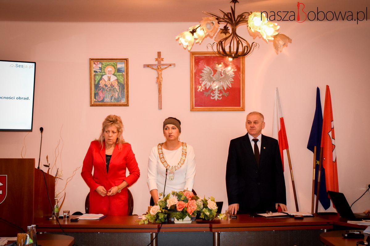 XIV Sesja Rady Miejskiej w Bobowej