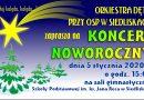 Koncert Noworoczny w Siedliskach – Zaproszenie