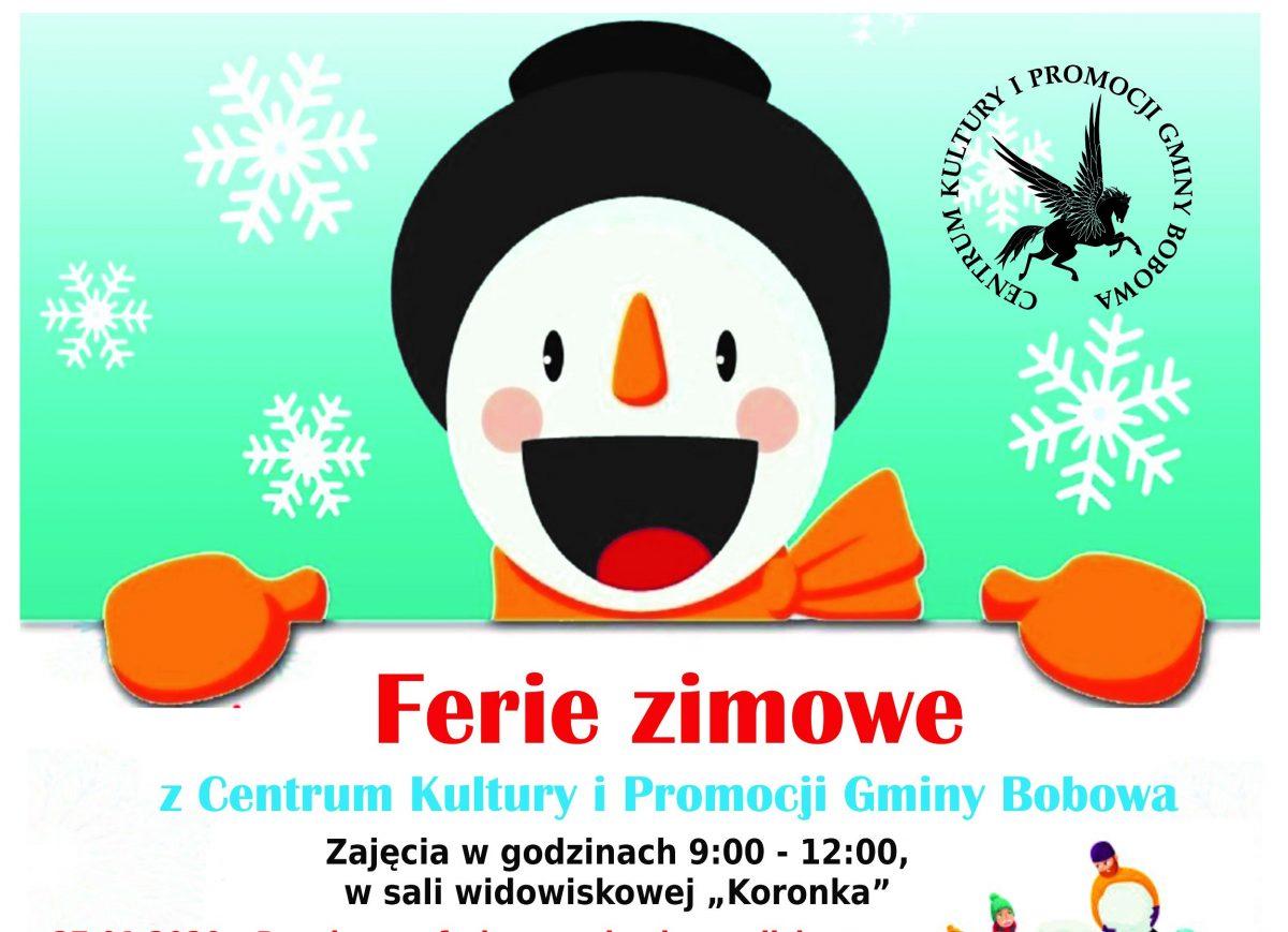 Ferie Zimowe – zaproszenie