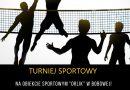 Turnieje sportowe – zaproszenie