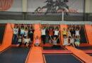 Klasa VII z SP w Stróżnej w Flyparku w Tarnowie