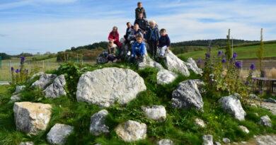 Wyjazd uczniów SP Stróżna do  Parku Przyrodniczo – Geologicznego w Bobowej