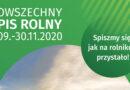 Komunikat do mieszkańców Gminy Bobowa ws. Powszechnego Spisu Rolnego
