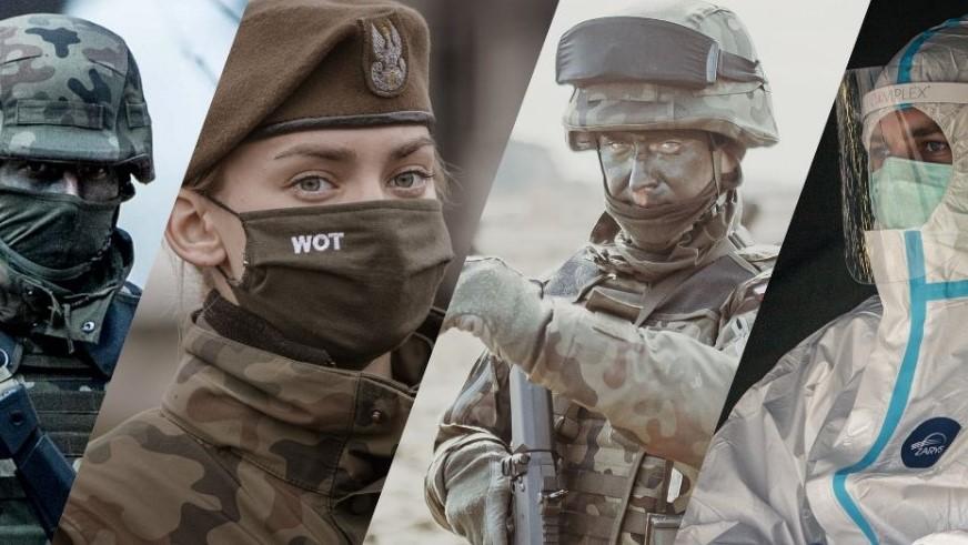 Zaangażowanie 11 Małopolskiej Brygady Obrony Terytorialnej i żołnierzy z powiatu gorlickiego w walkę z rozprzestrzenianiem się COVID-19
