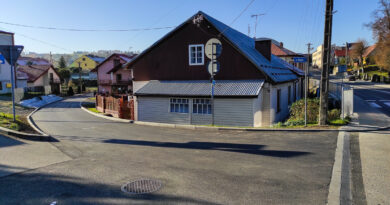 Odbiór wyremontowanej ulicy Okrężnej w Bobowej
