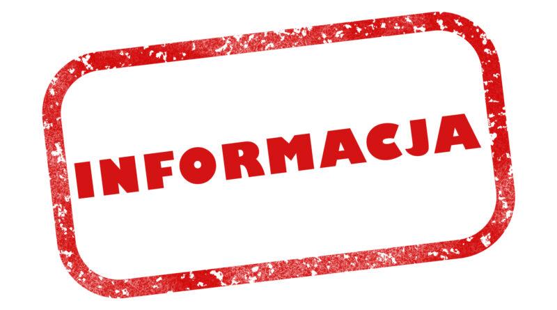 Informacja Powiatowego Lekarza Weterynarii w Gorlicach