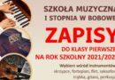 Rekrutacja – Szkoła Muzyczna I stopnia w Bobowej