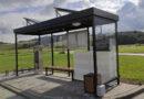 Odbiór wiaty przystankowej na terenie kompleksu rekreacyjno – sportowego w Bobowej