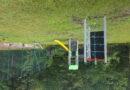 Poprawa atrakcyjności turystycznej w Gminie Bobowa poprzez budowę placu zabaw i montaż stojaków na rowery w Brzanie