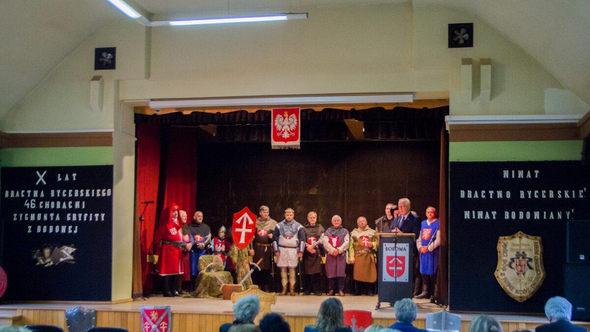 Bobowskie Bractwo Rycerskie jest z nami dziesięć lat