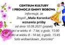 """Zespół """"Mała Koronka"""" zaprasza"""