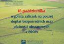 Startuje wypłata zaliczek na poczet dopłat bezpośrednich oraz płatności obszarowych z PROW