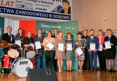 Obchody Dnia Edukacji Narodowej w Zespole Szkół Zawodowych im. St. Wyspiańskiego w Bobowej