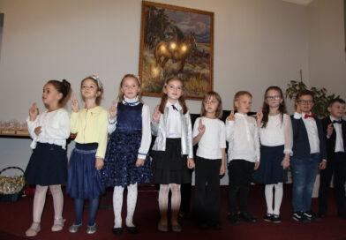 Ślubowanie pierwszoklasistów w Szkole Muzycznej I stopnia w Bobowej