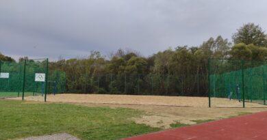 Odbiór boiska do piłki ręcznej plażowej w Wilczyskach